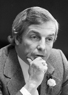 E. Peter Lougheed, 1975, Provincial Archives of Alberta photo J2091