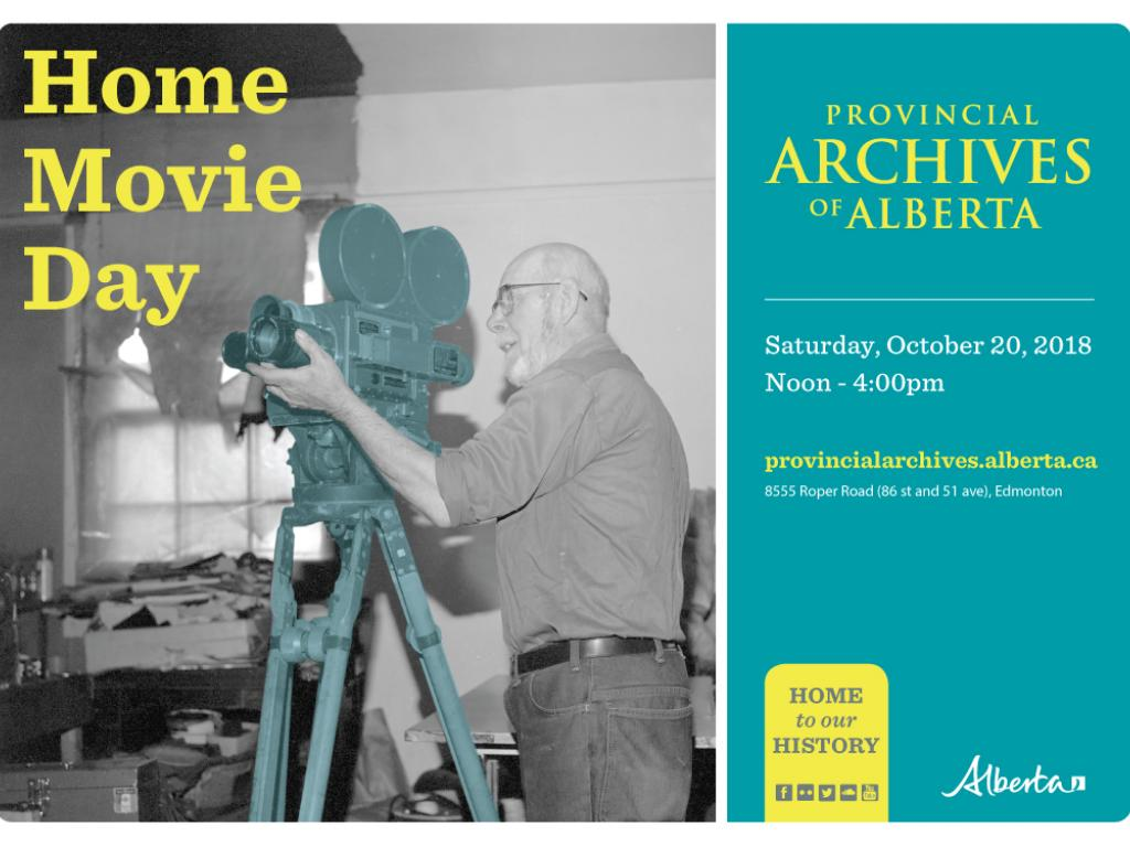 Home Movie Day poster - PAA Photo A15651B