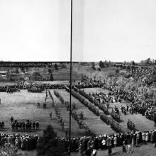 Jubilee (Silver) celebrations of Their Majesties King George V and Queen Mary at Edmonton, May 6, 1935, Provincial Archives of Alberta, Photo A3885