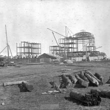 Parliament Building under construction, ca. 1911, Provincial Archives of Alberta, Photo A8142