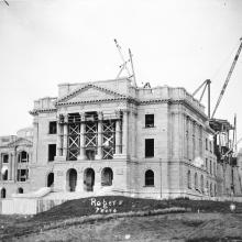 Parliament Building-construction, Provincial Archives of Alberta, Photo B3394